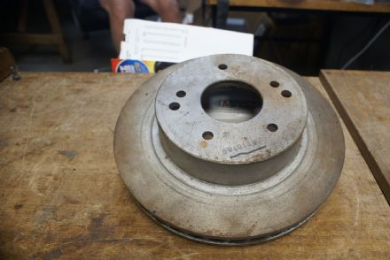 "Rear 12"" Brake Disc,60401AD,Used"